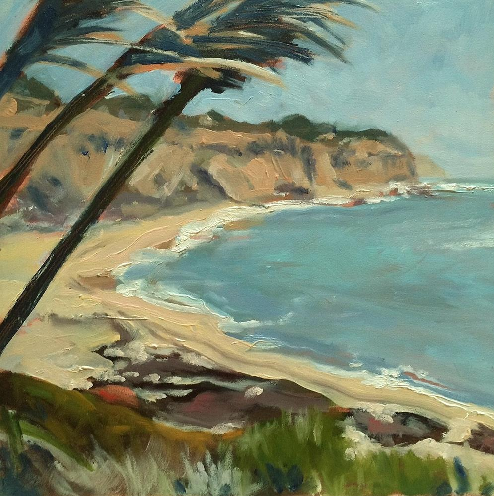 """North of Santa Cruz"" original fine art by John Tullis"