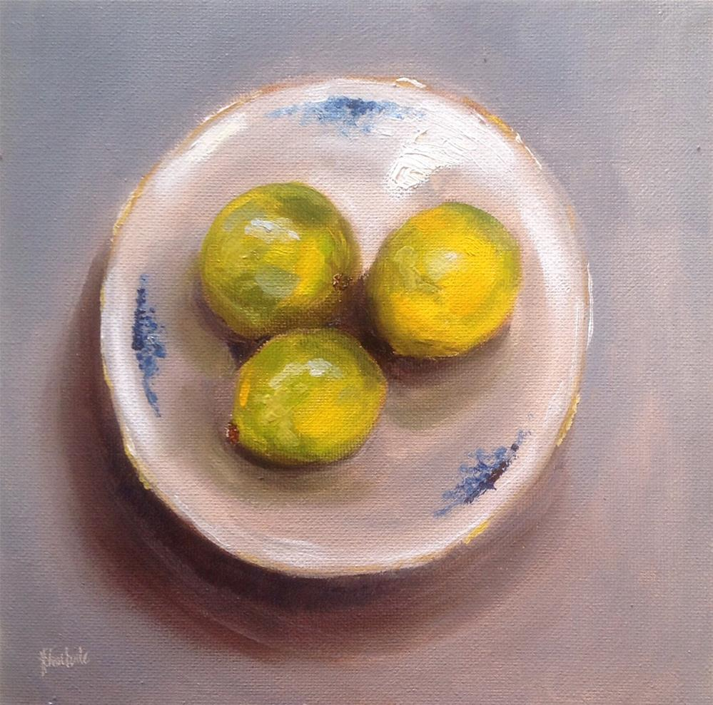 """Lime and soda #703"" original fine art by Heidi Shedlock"