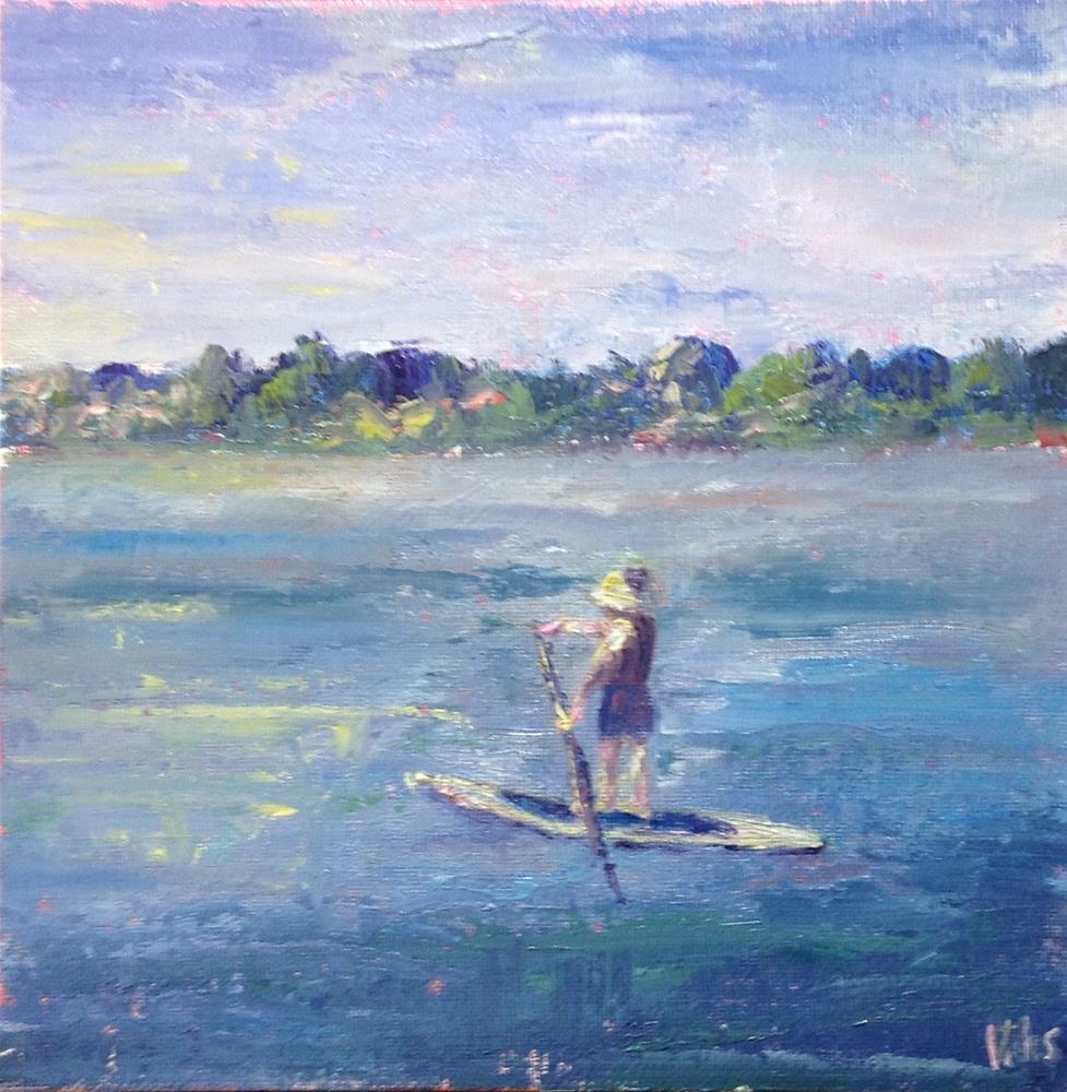 """Lubec 'Stroll'"" original fine art by Helen Viebrock Hamel"