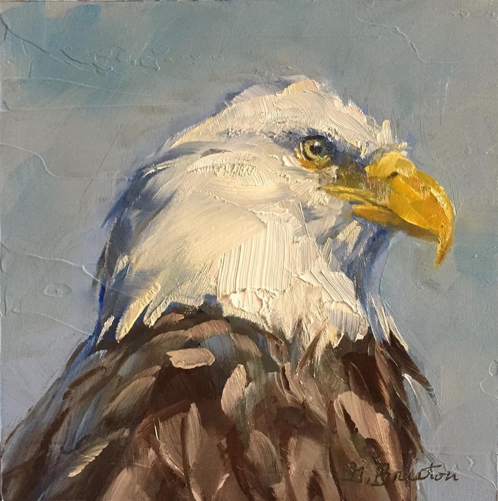 """Iconic"" original fine art by Gary Bruton"
