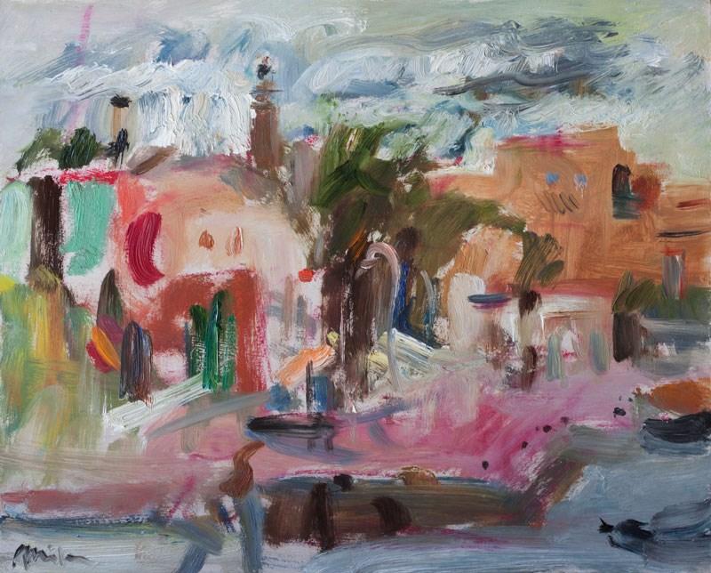 """Stormy Morning"" original fine art by Anna  Fine Art"
