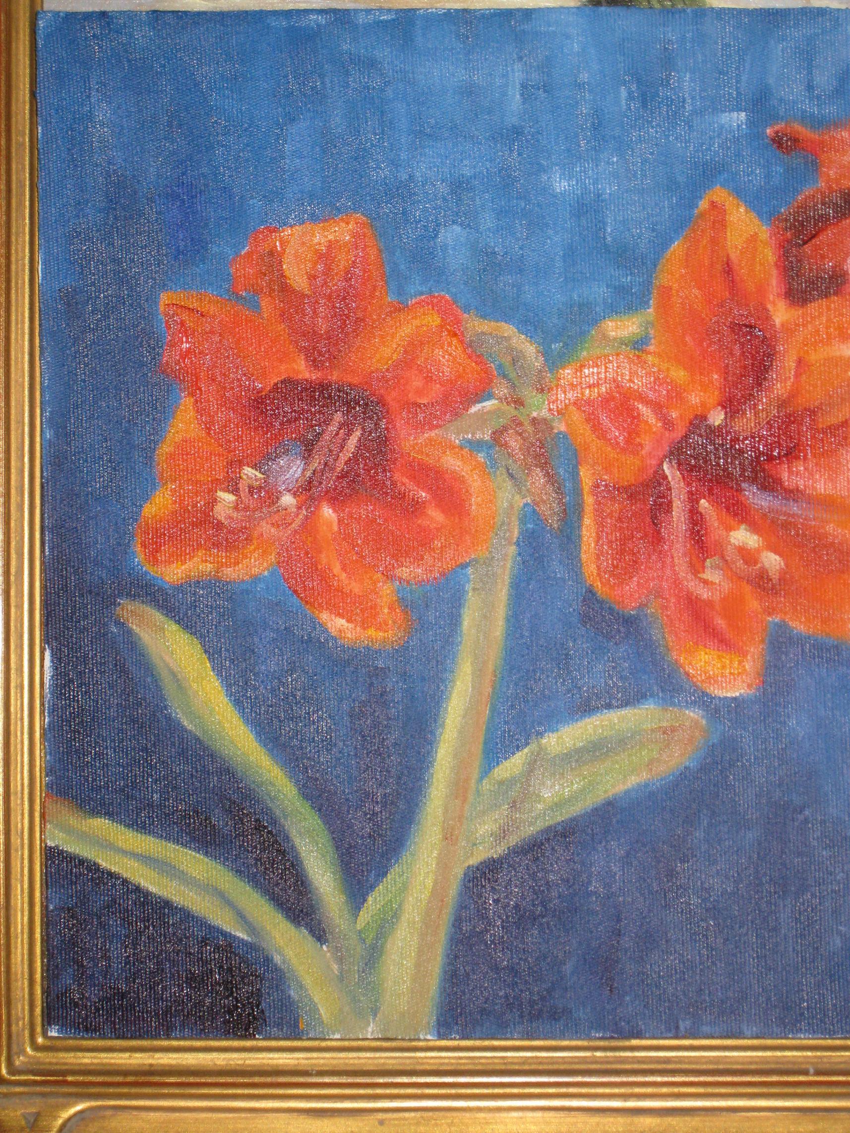"""amarylis"" original fine art by Leigh Alexandra Sparks"