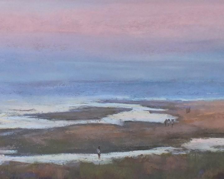 """Crane Beach 2"" original fine art by Linee Baird"