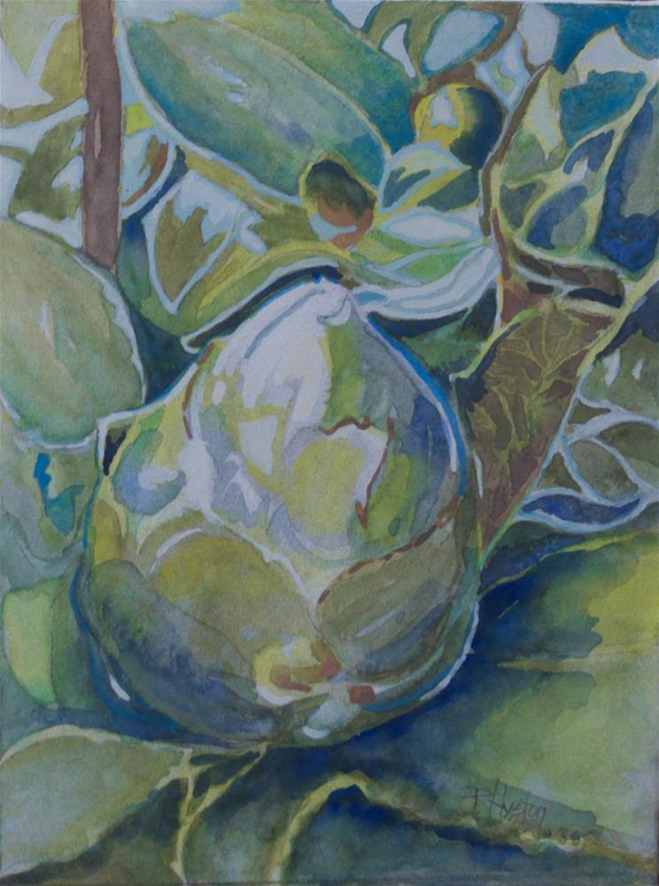 """Botanical Garden 30... Camellia's Promise"" original fine art by Richard Huston"