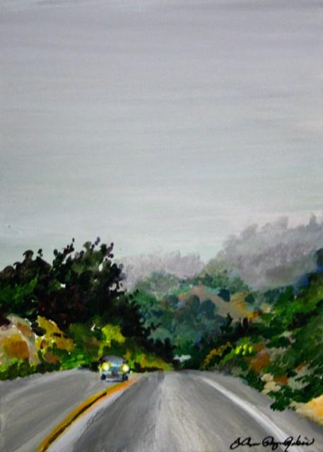 """""""Coastal Fog"""" original fine art by JoAnne Perez Robinson"""