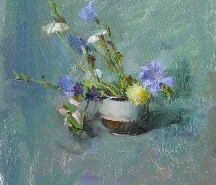 """quiet still life "" original fine art by Taisia Kuklina"
