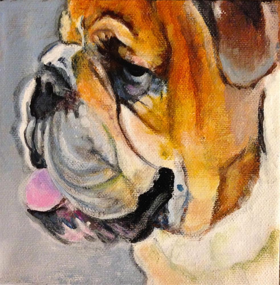 """Doc"" original fine art by Debbie Yacenda"