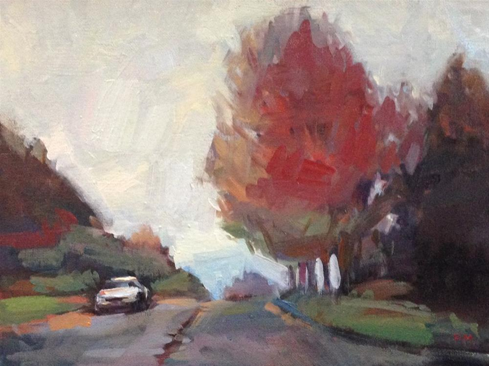 """An Almost Zorn Kind of Day"" original fine art by Patti McNutt"