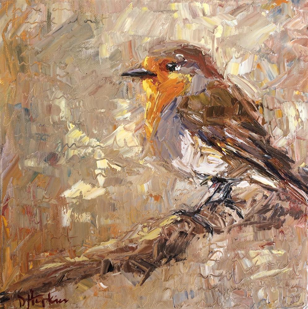 """Resting"" original fine art by Denise Hopkins"