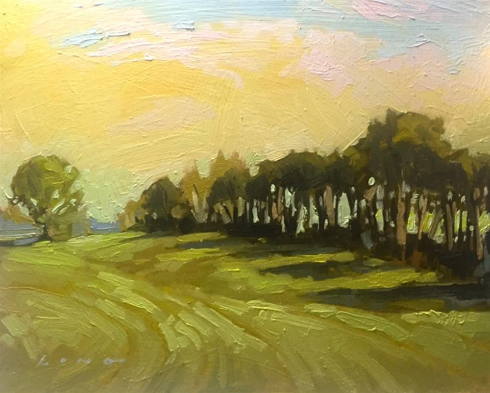 """Farm Morning "" original fine art by Chris Long"