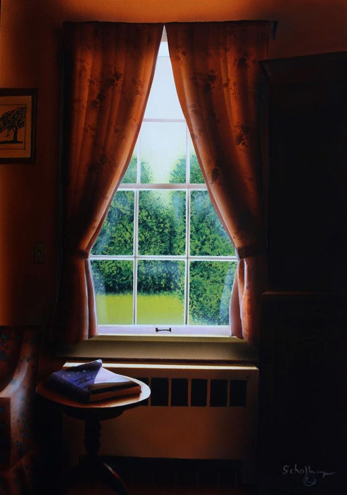 """Interior (Mid-Day)"" original fine art by Fred Schollmeyer"