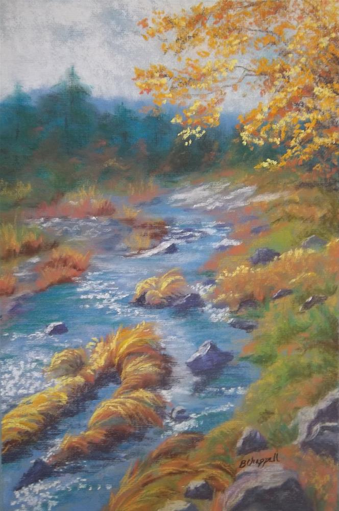 """Outside Lake Tahoe"" original fine art by Becky Chappell"
