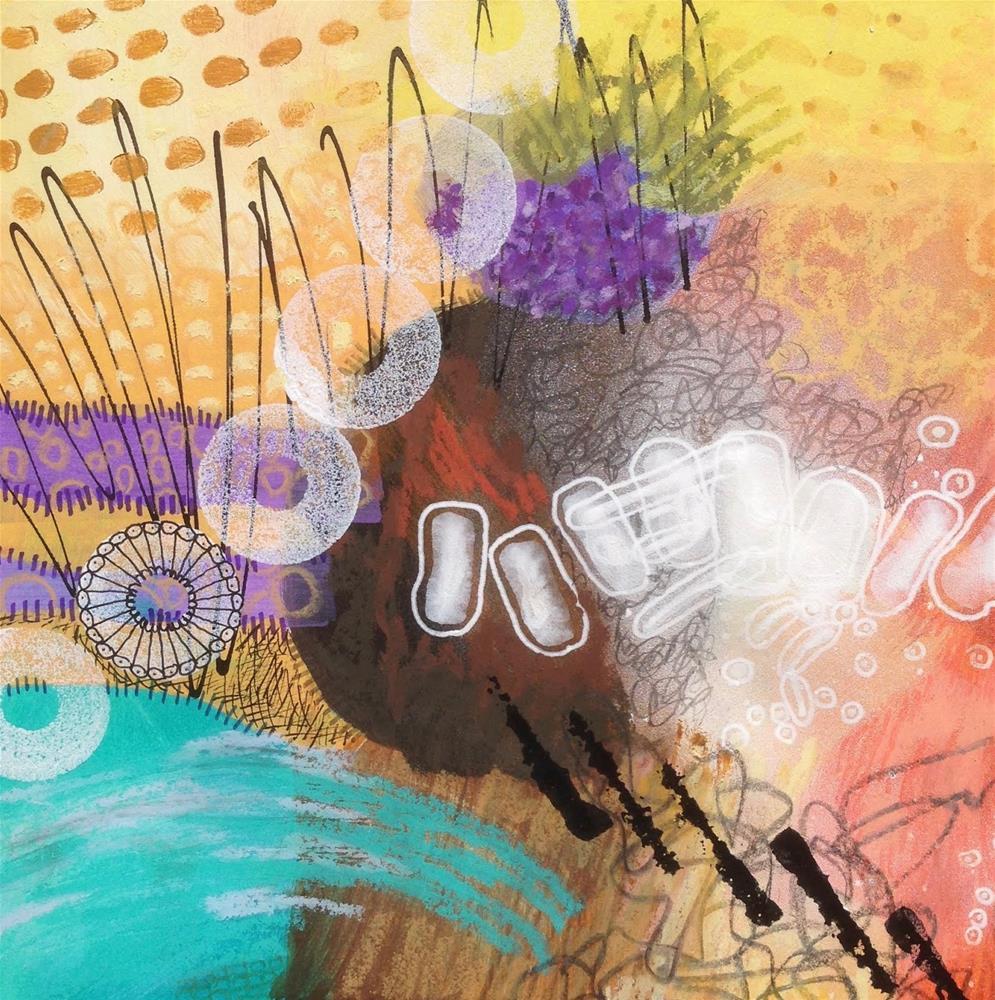 """""""IMPROV, Day 1b"""" original fine art by Dotty  Seiter"""