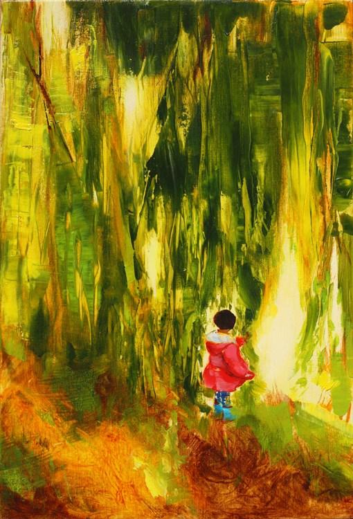 """Willow tree"" original fine art by Eszter Szicso"