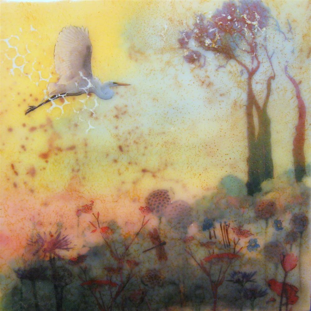 """""""Earth Tapestry #4"""" original fine art by Danielle M. Le  Bris"""