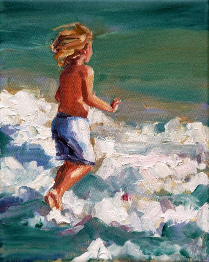 """""""fordham"""" original fine art by Carol Carmichael"""