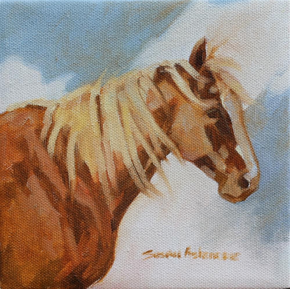 """Blonde"" original fine art by Susan Ashmore"