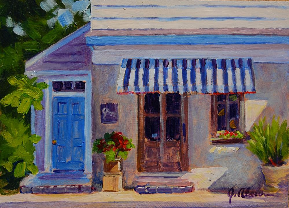 """Joe's Joe"" original fine art by Gary Alsum"