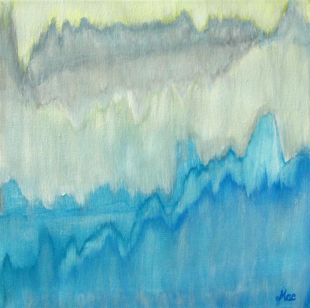 """""""Glacier Citadel"""" original fine art by Alina Frent"""