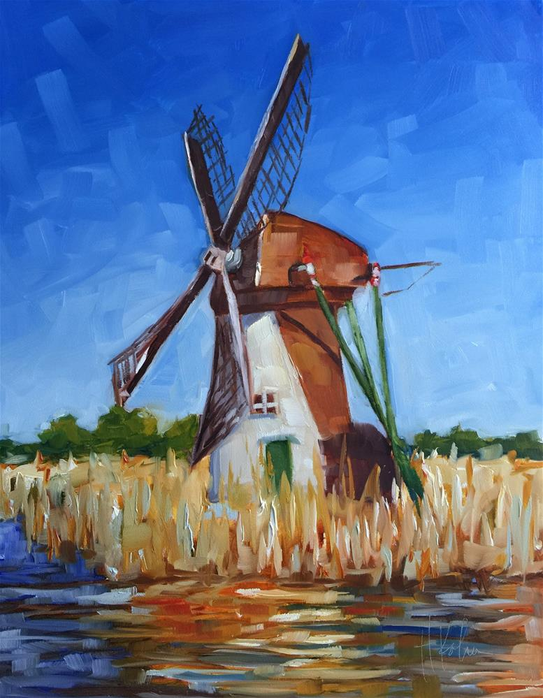 """Holland"" original fine art by Hallie Kohn"