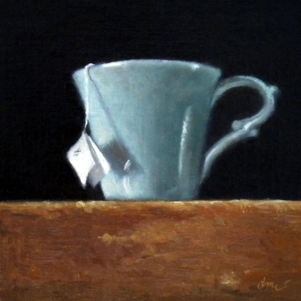 """Tea and Thunderstorms"" original fine art by Darla McDowell"