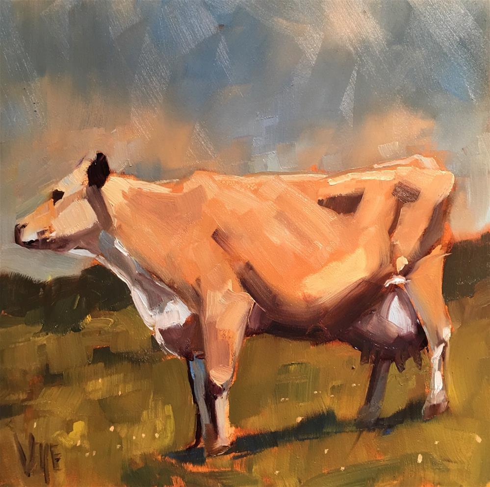 """""""#464 Poser"""" original fine art by Patty Voje"""
