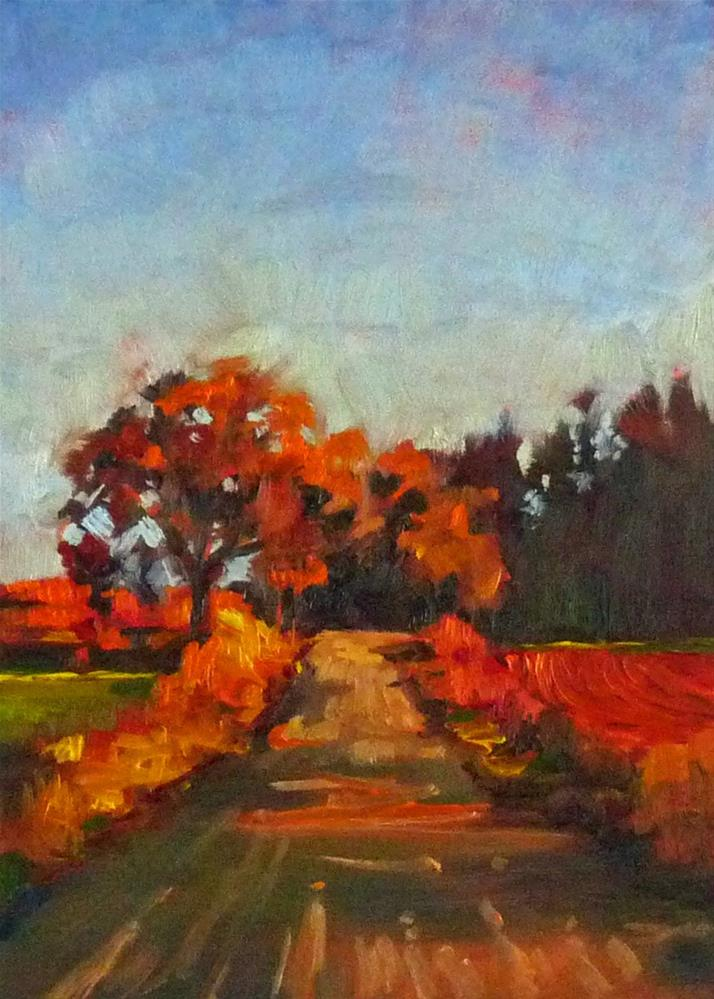 """The Road Home"" original fine art by Sharman Owings"