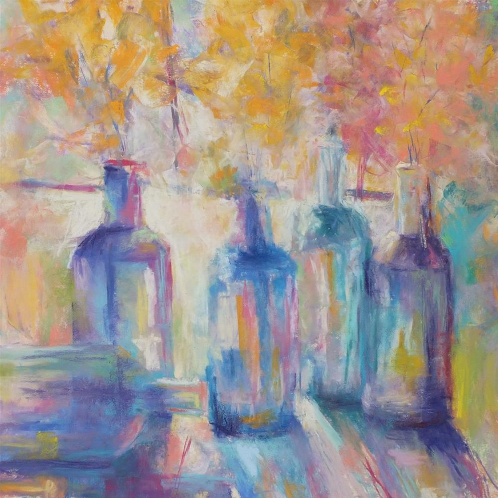 """Unbottled Light"" original fine art by Linee Baird"