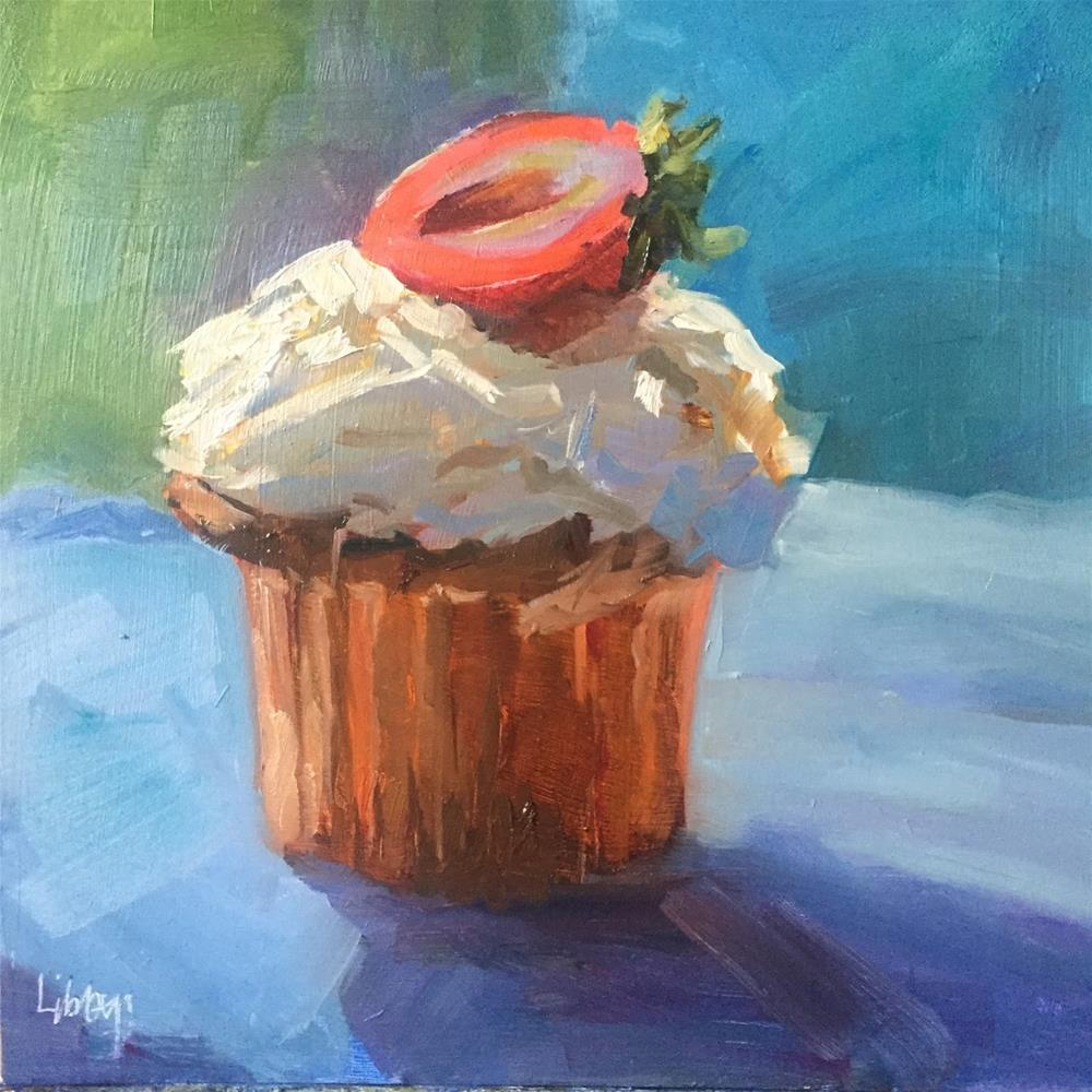 """#175 Sweet Thang"" original fine art by Libby Gilpatric"