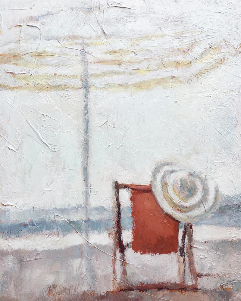 """""""A Break in the Clouds"""" original fine art by Nava Judith"""