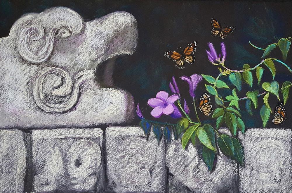 """Despues de la Vida (After Life)"" original fine art by Anna Lisa Leal"