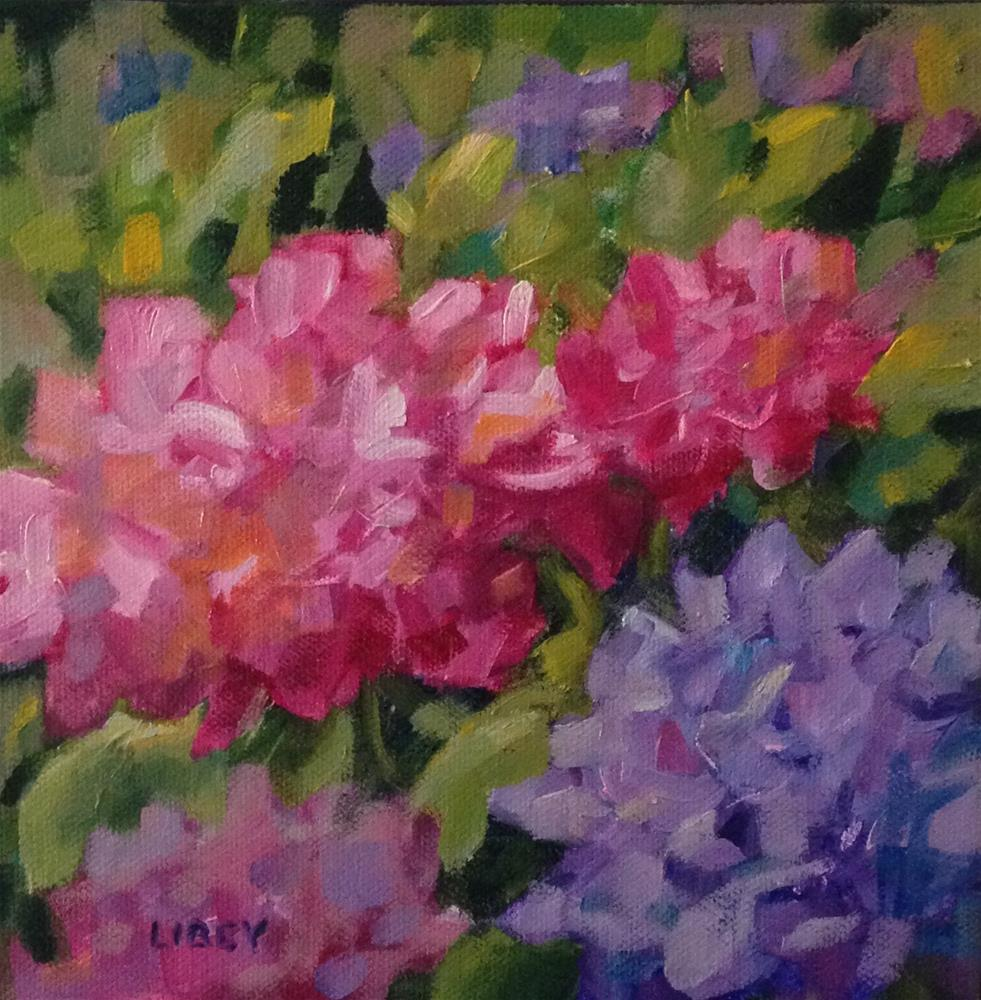 """Enough"" original fine art by Libby Anderson"