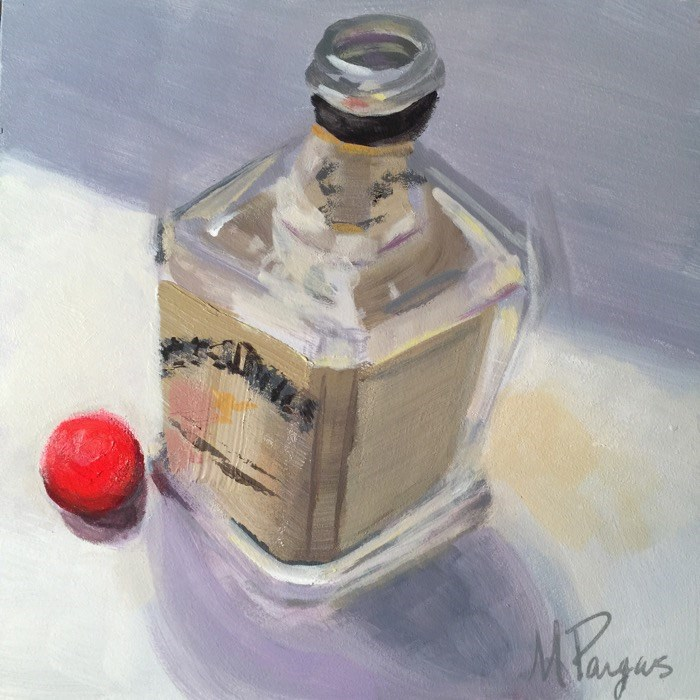 """""""Jack of Another Kind"""" original fine art by Mary Pargas"""