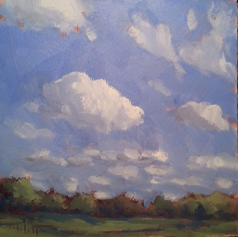 """Brisk Day Original Oil Painting"" original fine art by Heidi Malott"