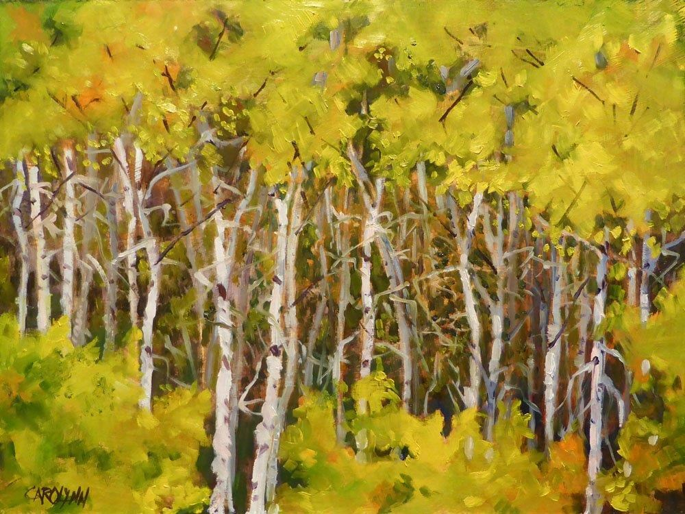 """Fall Approaching"" original fine art by Carolynn Doan"