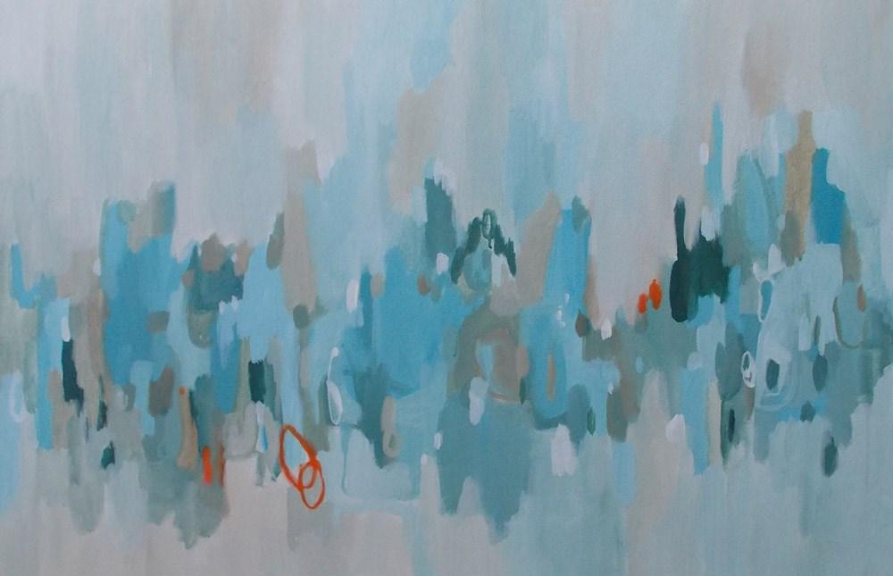 """""""Data Blues"""" original fine art by Pamela Munger"""