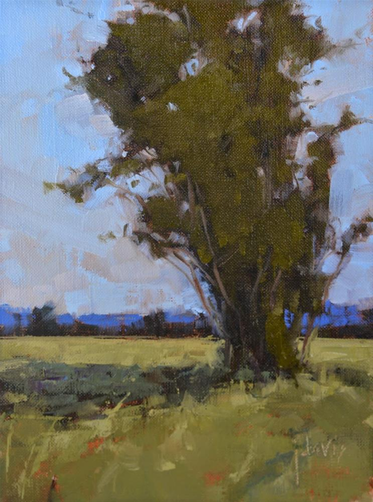 """Tree Study"" original fine art by Julie Davis"