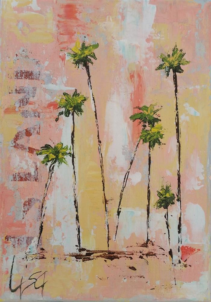 """108 - Island Time"" original fine art by Lisa Rogers"