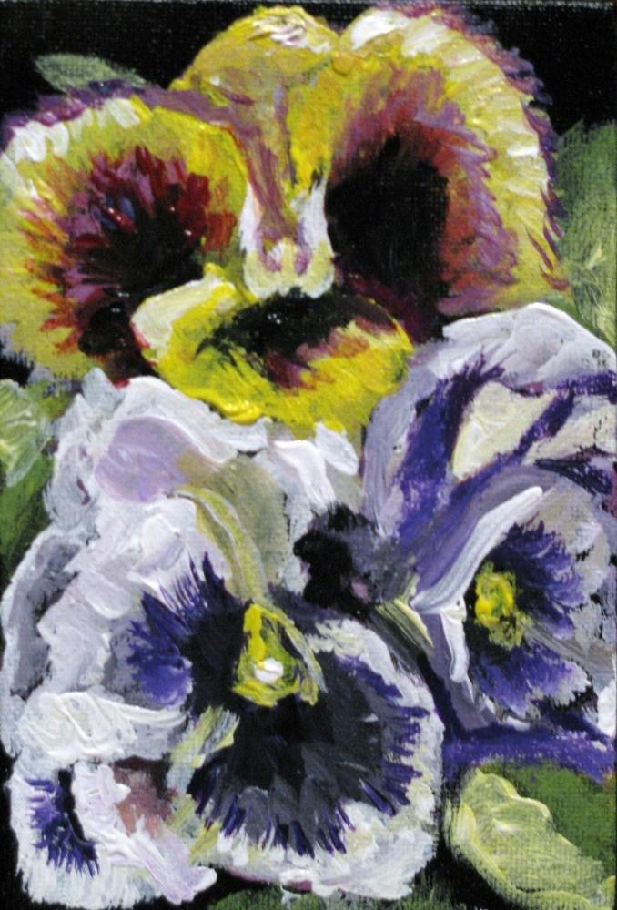 """""""Pansy O'Hara"""" original fine art by Susan Elizabeth Jones"""
