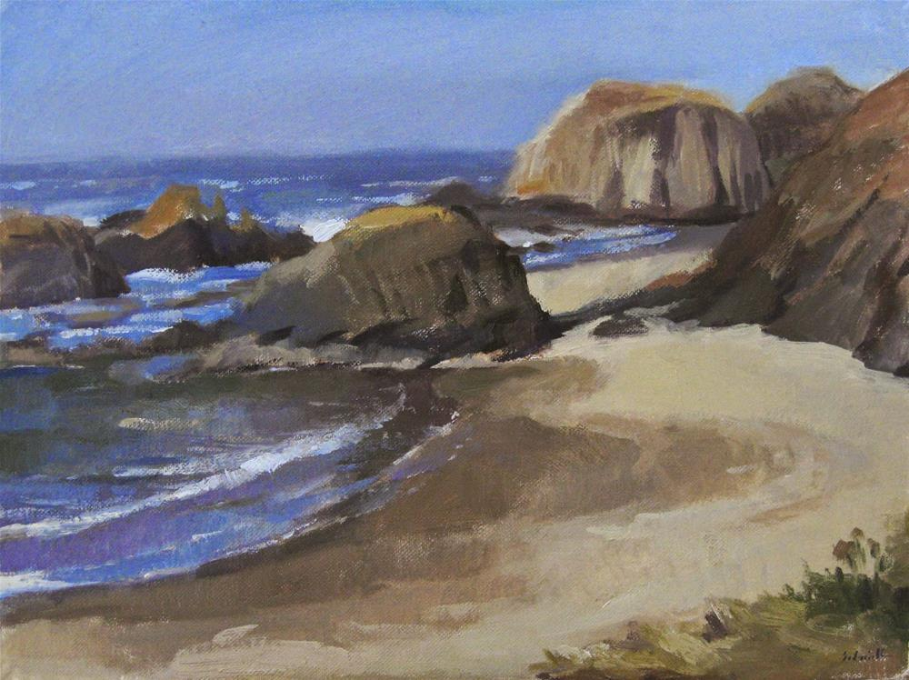 """Seal Rock"" original fine art by Sarah Sedwick"