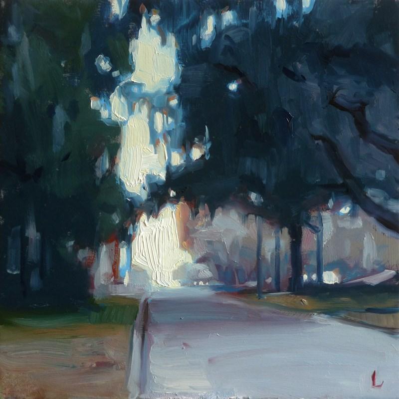 """Pine Street"" original fine art by John Larriva"