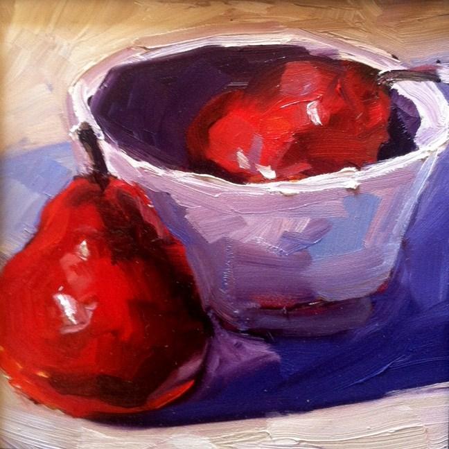 """""""Red"""" original fine art by Kristen Dukat"""