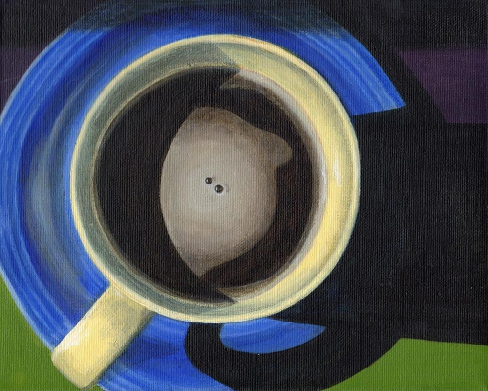 """Morning Cup"" original fine art by Debbie Shirley"