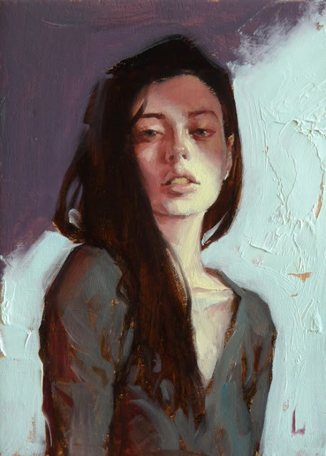 """Slink"" original fine art by John Larriva"