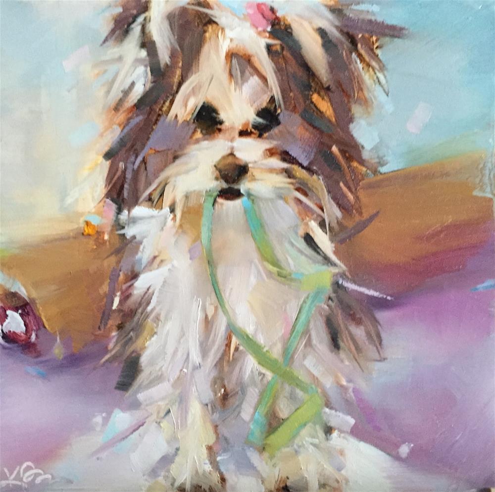 """Scout"" original fine art by Kathleen Broaderick"