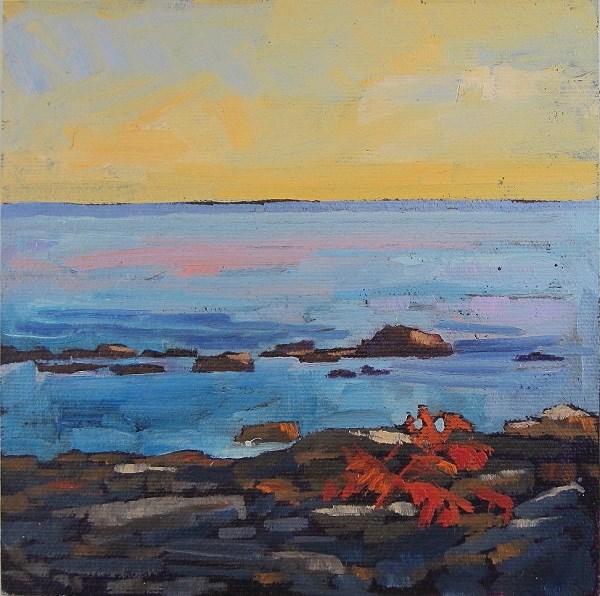 """Little Sumac on the Beach"" original fine art by Nicki Ault"