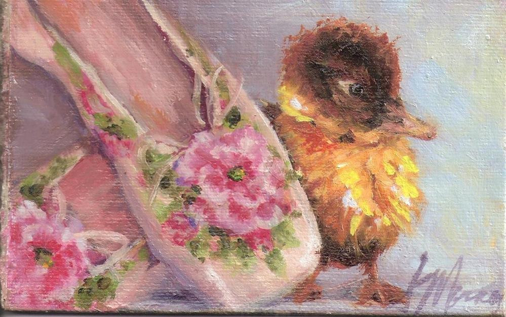 """La Prima"" original fine art by Susie Monzingo"