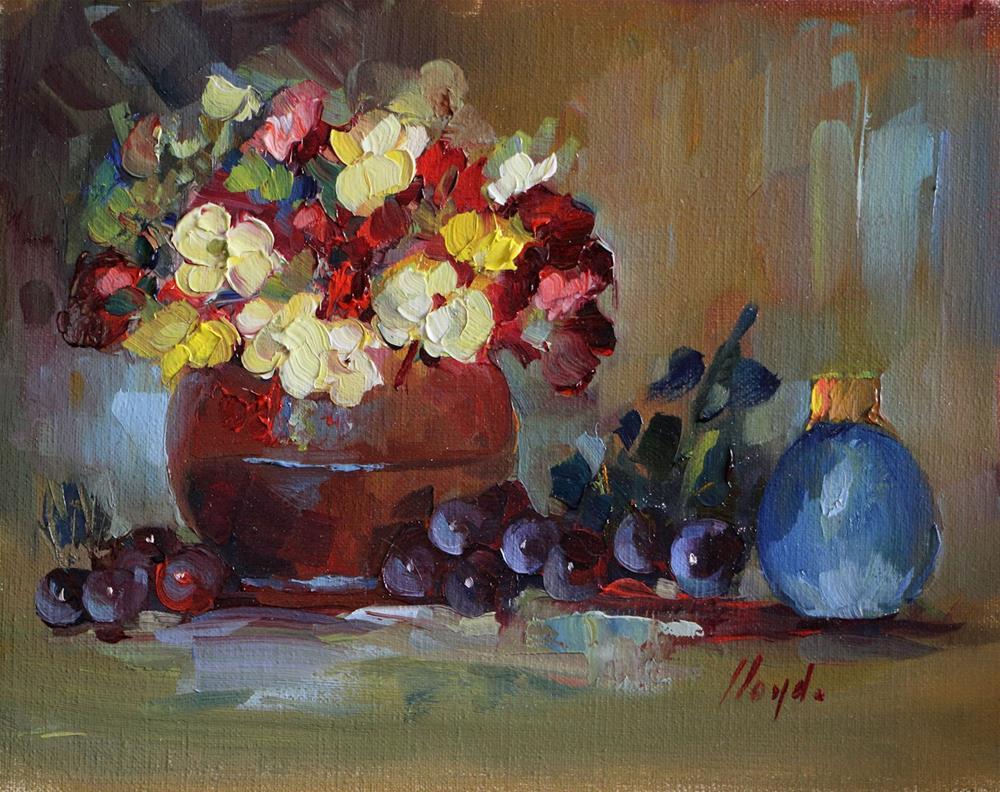 """""""So Happy"""" original fine art by Diane Lloyd"""