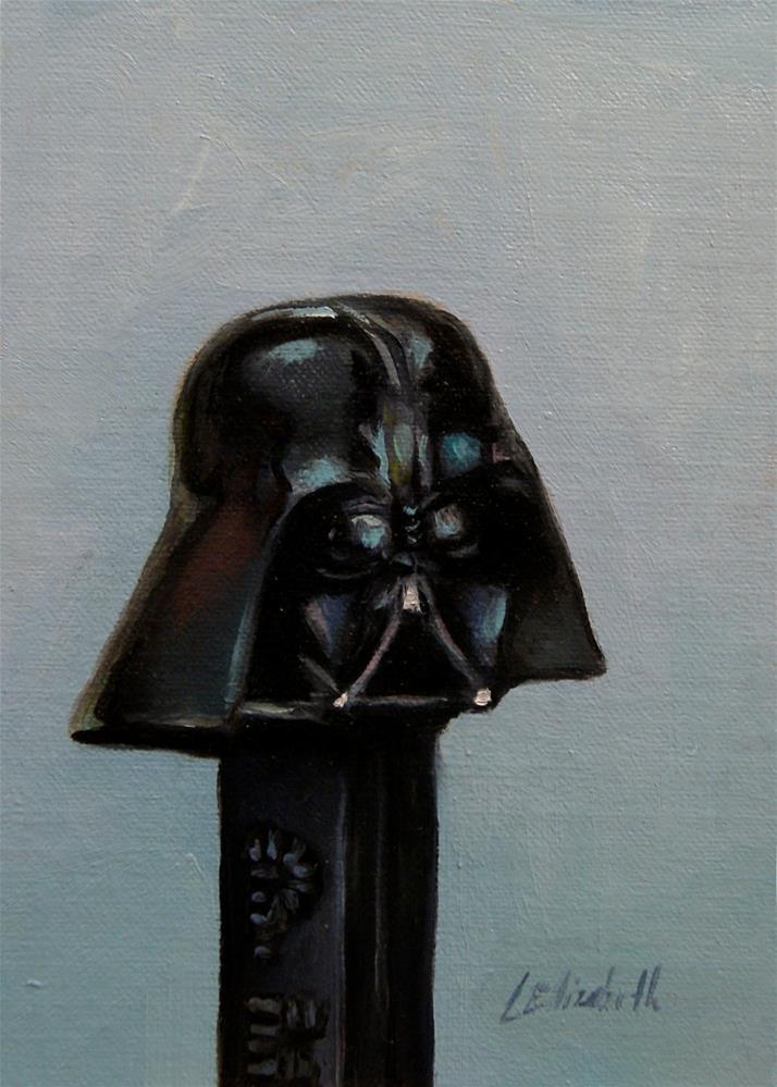 """The Darker side"" original fine art by Carolina Elizabeth"