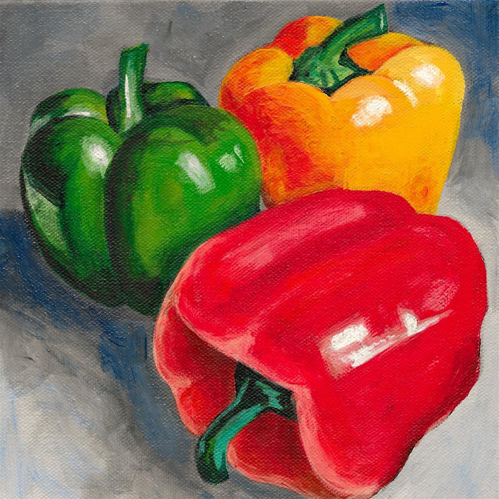 """Capsicum"" original fine art by Lisa Wiertel"